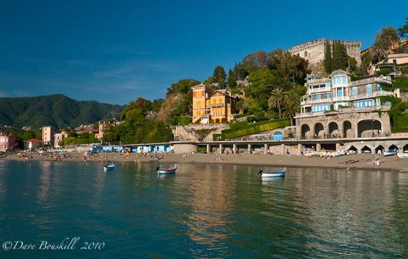 Italian Riviera town in Cinque Terra