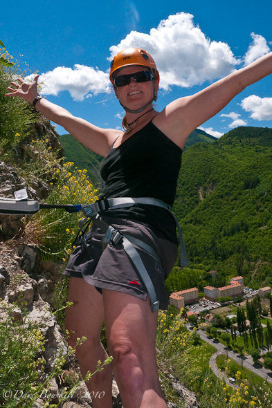 Via Ferrata-Haute Provence-Clipped in