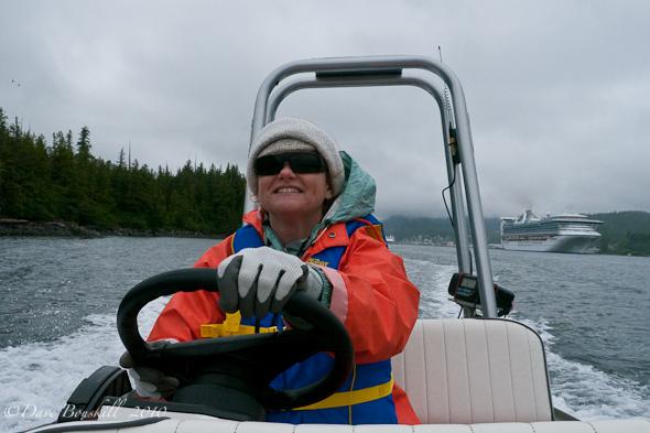 Zodiac Adventure-Ketchican-Alaska-Driving