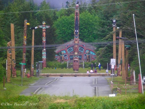 Zodiac Adventure-Ketchican-Alaska-totem-pole