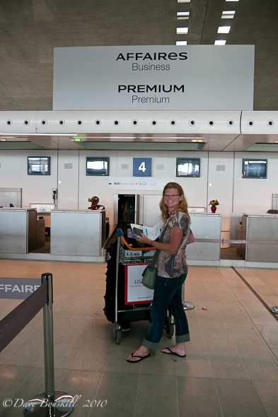 Deb at the Premium Boarding!
