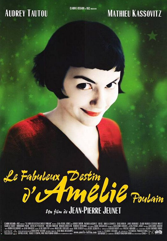 Amelie was Filmed in Montmartre