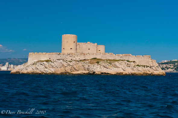 Chateau D'If Marseilles France