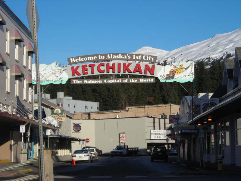 Zodiac Adventure-Ketchican-Alaska-Downtown