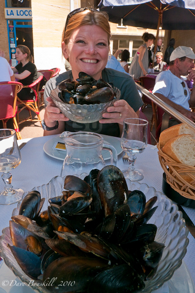 Moules Frites in Marseilles