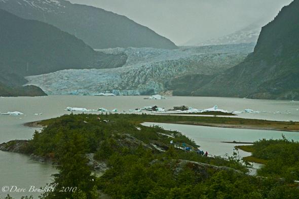 Alaska-Mendenhall-Glacier