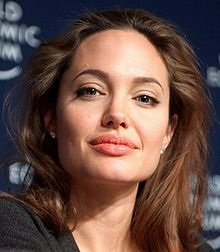celebrity humanitarian, Angelina Jolie