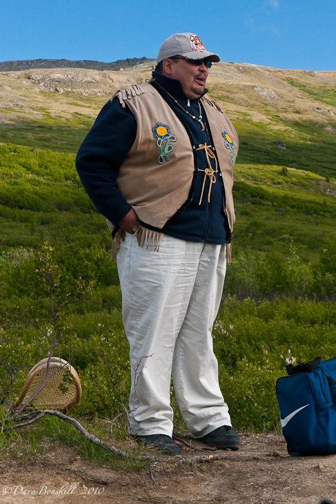 Athabaskan Native guide in Denali National Park