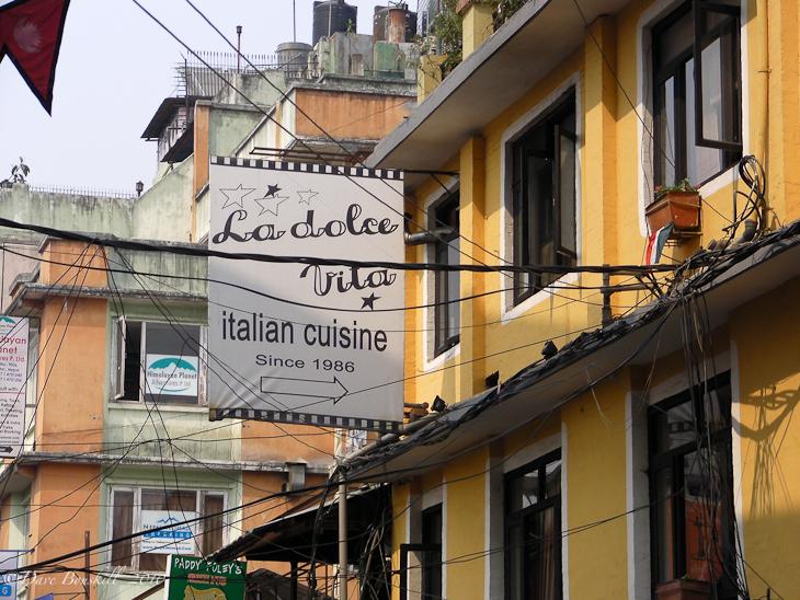 Italian eatery Kathmandu Nepal