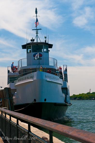 New York City Liberty Island Ferry