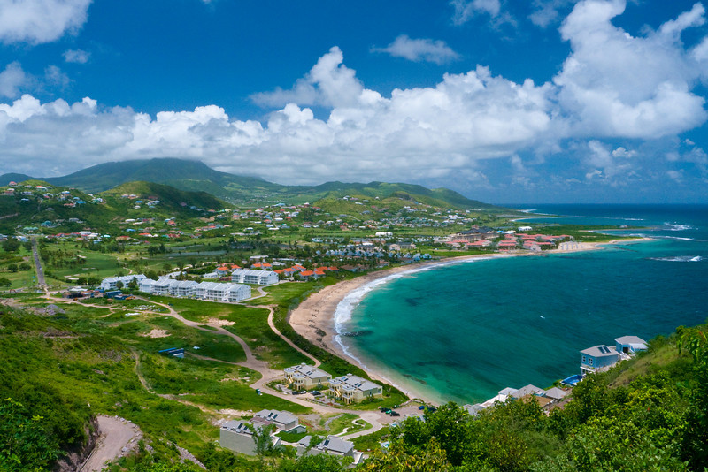 Limin On Reggae Beach In St Kitts