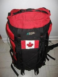 Canadian-Flag-backpack