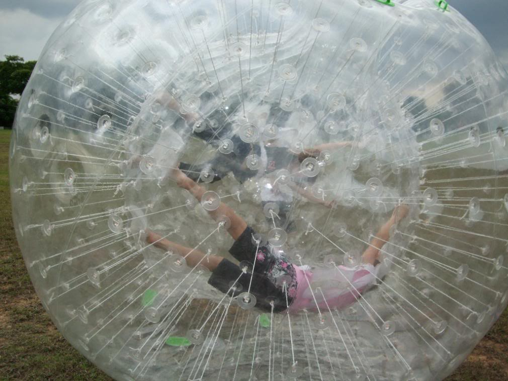 zorbing singapore outdoor adventures